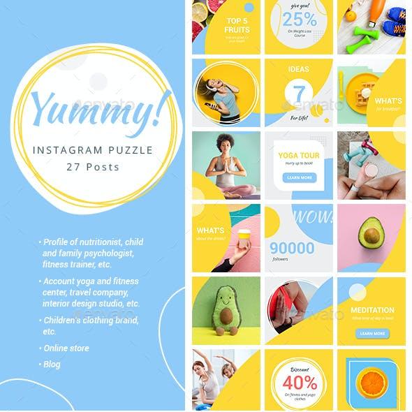 Instagram Puzzle - Yummy!