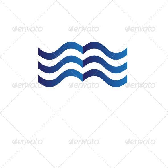 Sea of Books Logo Template