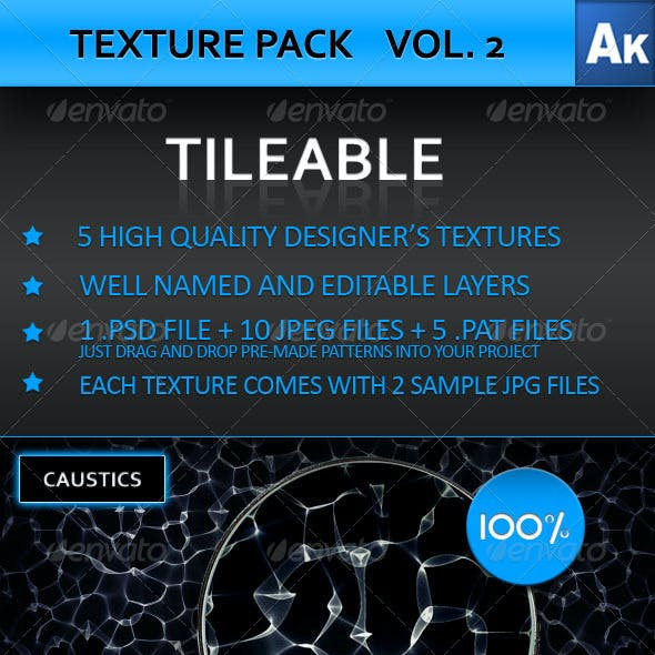 TEXTURE PACK VOL. 2 - Designer's Textures