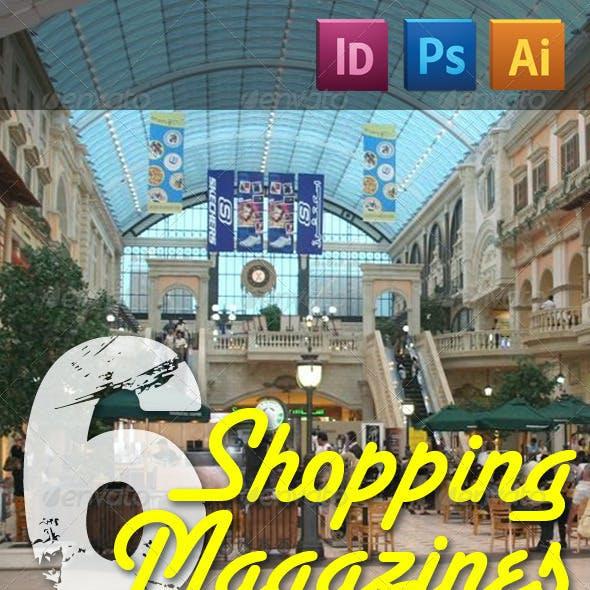 6 Shopping Magazines Bundle