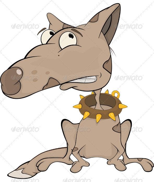 The Hunting Dog Cartoon  - Animals Characters