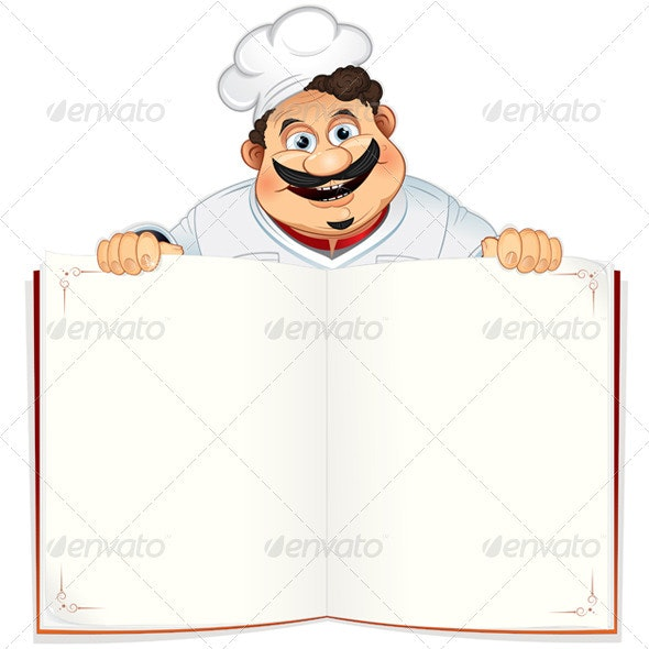 Recipe Book - People Characters