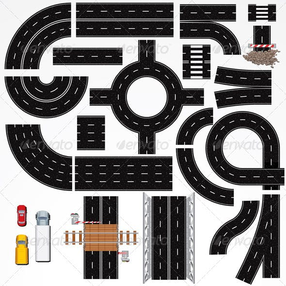 Road Construction Elements