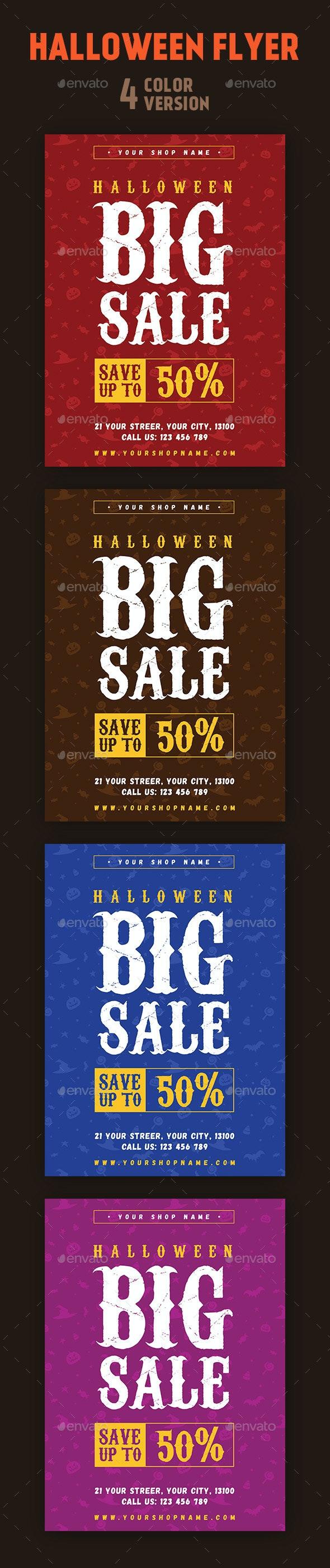 Halloween Sale Flyer - Commerce Flyers