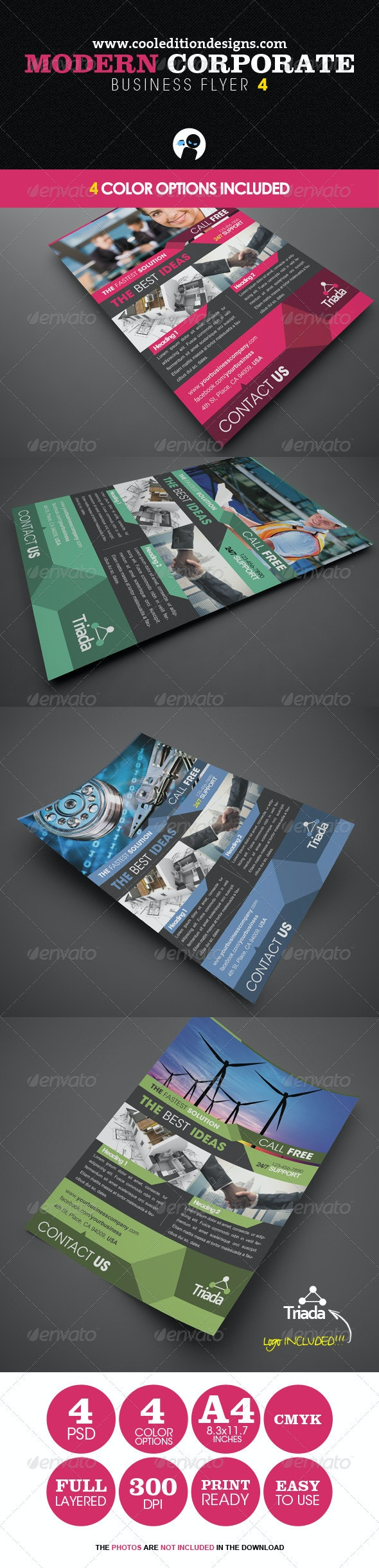 Modern Corporate Business Flyer 4 - Corporate Flyers