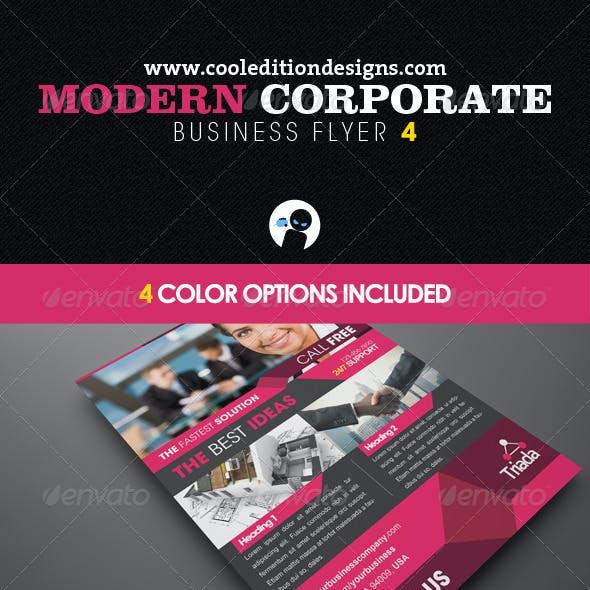 Modern Corporate Business Flyer 4
