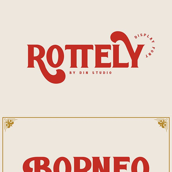 Rotterly Display Font
