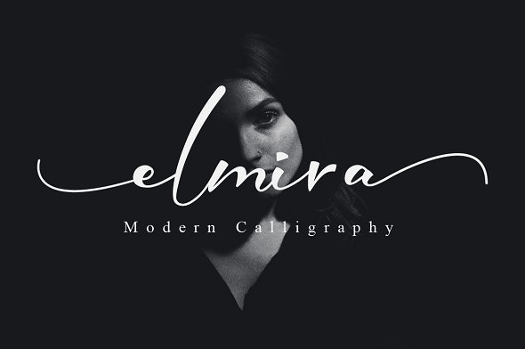 Elmira Script - Calligraphy Script