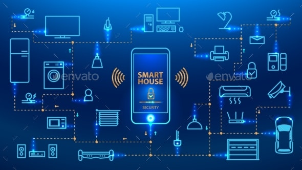 Smart Home Concept.  - Computers Technology
