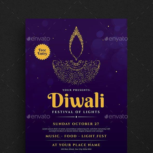 Diwali Event Flyer