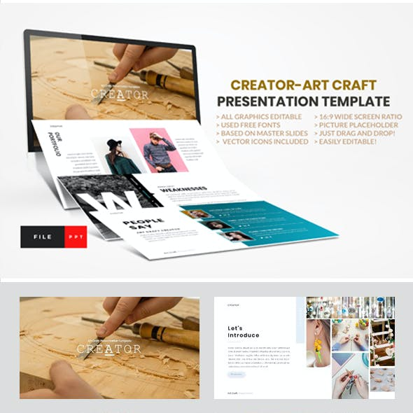 Pixel Art Presentation Templates From Graphicriver