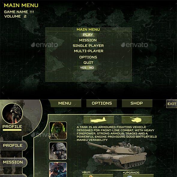 Infinite Warfare UI Kit Pack