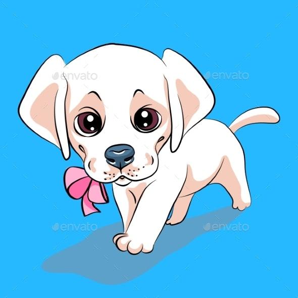 Puppy Dog Labrador Retriever - Animals Characters