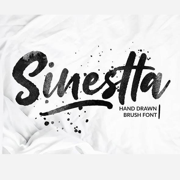 Sinestta - Brush Font