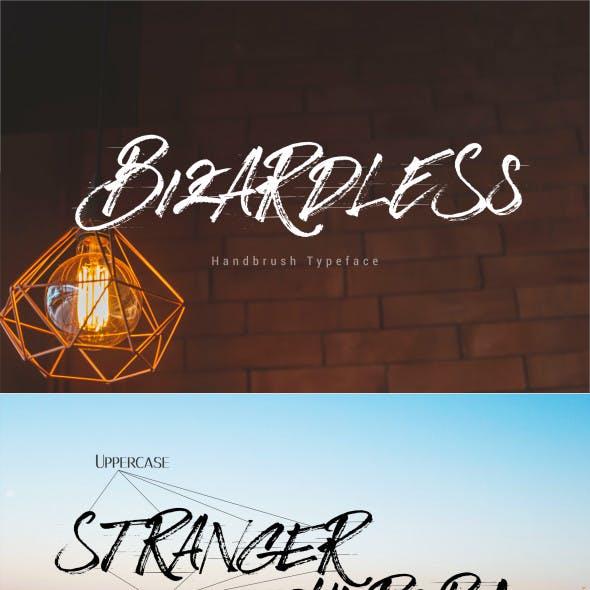 BizardleSs Handbrush Typeface