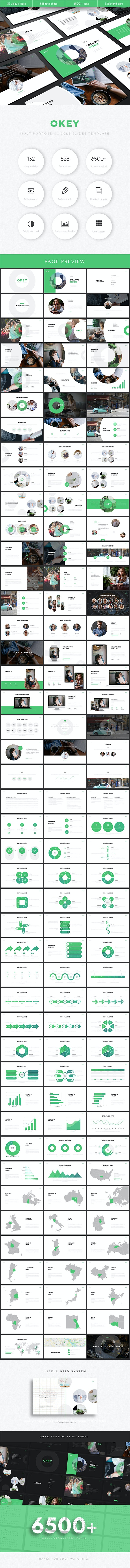Okey Multipurpose Google Slides Template - Google Slides Presentation Templates