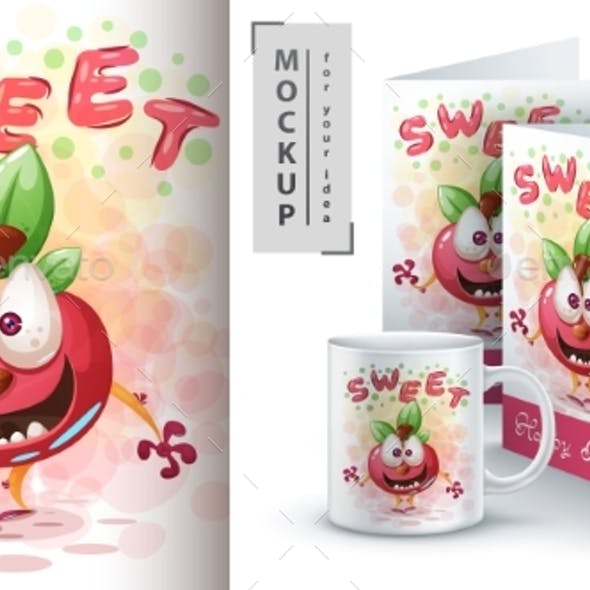 Sweet Apple - Mockup For your Idea