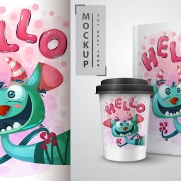 Monster Poster and Merchandising