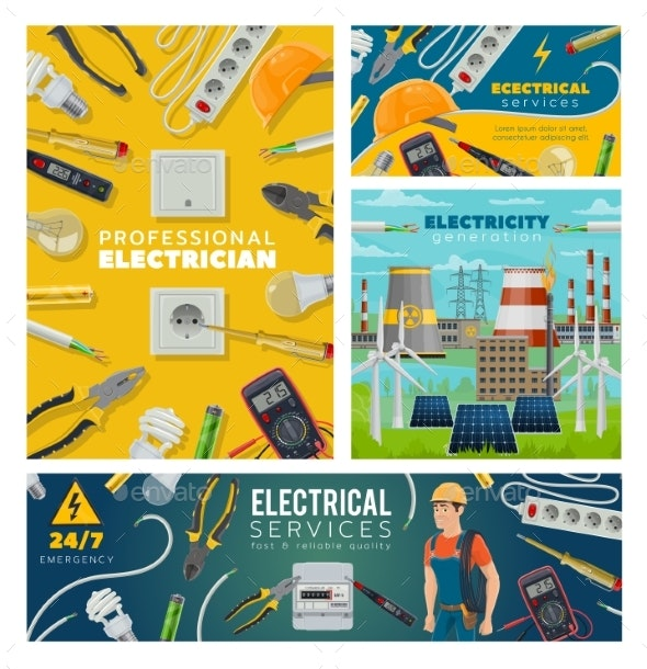 Electrician and Electrical Tools, Power Industry - Industries Business