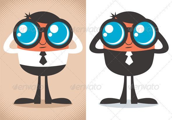 Watcher - Characters Vectors
