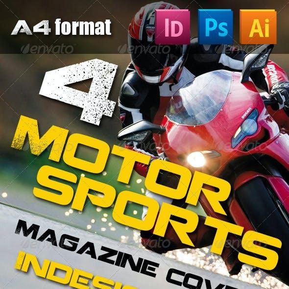 4 Motorsports Magazine Covers