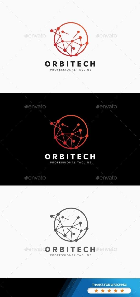 Circle Tech Logo - Abstract Logo Templates