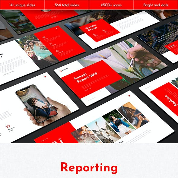 Reporting Multipurpose Keynote Template