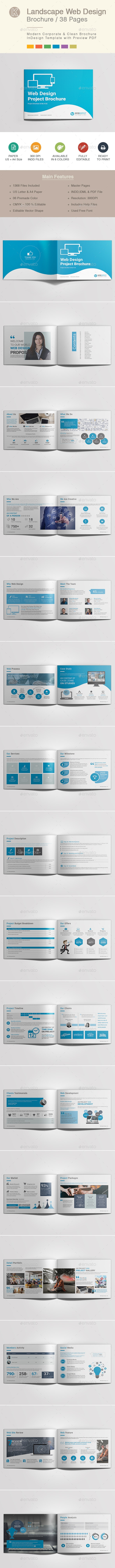 Landscape Web Design Brochure - Corporate Brochures