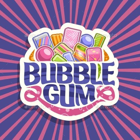 Vector Logo for Bubble Gum