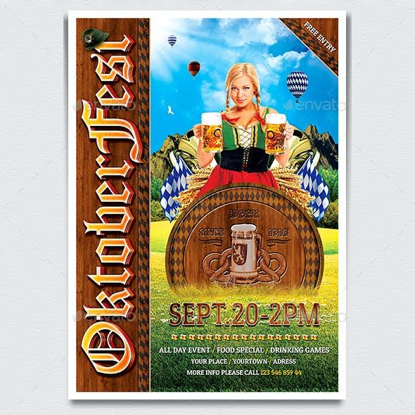 Oktoberfest Flyer Template V3