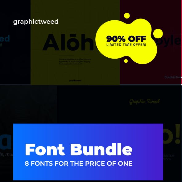 Font Bundle (9 Fonts for the Price of 1)