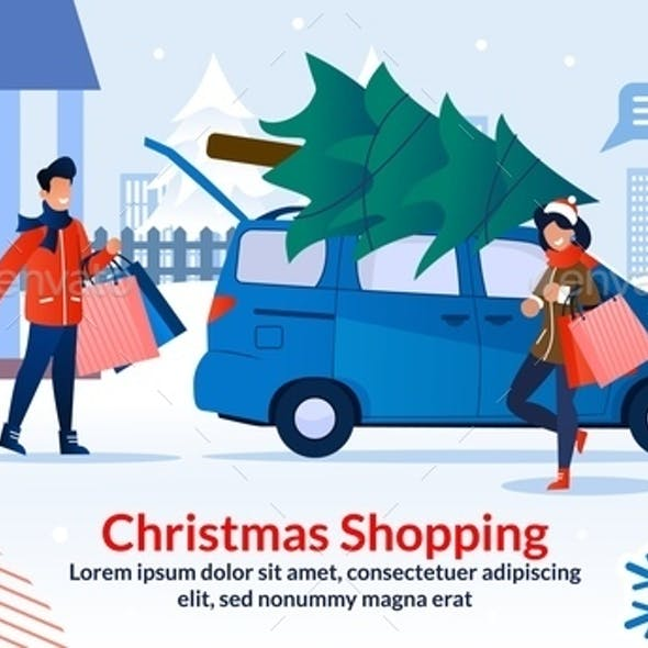 Christmas Shopping and Preparation to Celebration
