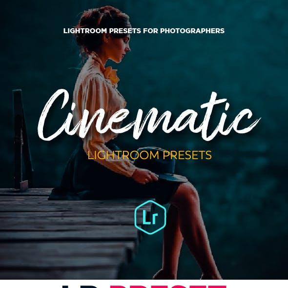 21 Cinematic Travel Lightroom Presets