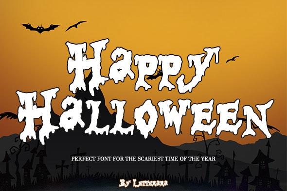 Happy Halloween - Script Fonts