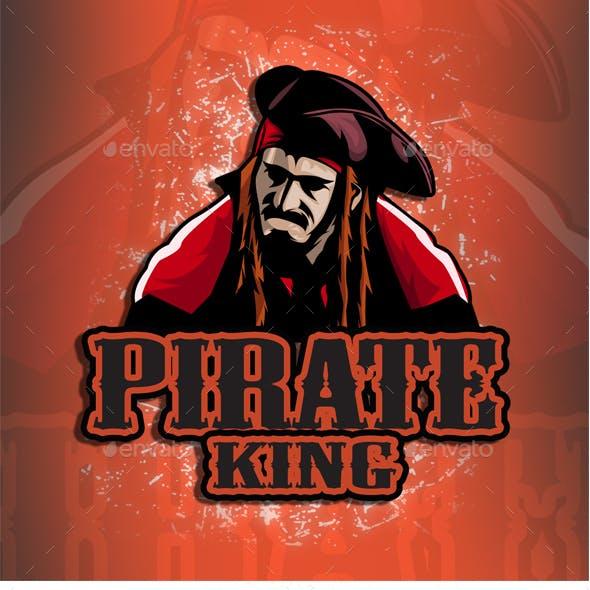 Pirate King - Esport Logo