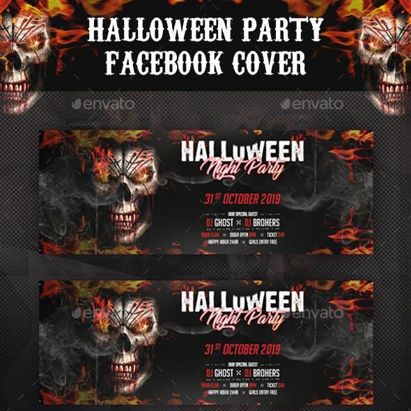 Halloween Party Facebook Cover