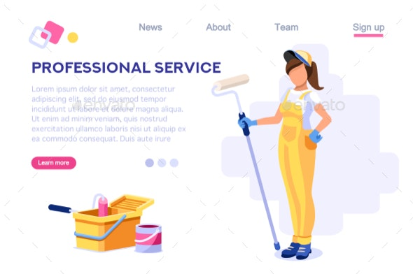 Professional Home Painting Work - Services Commercial / Shopping