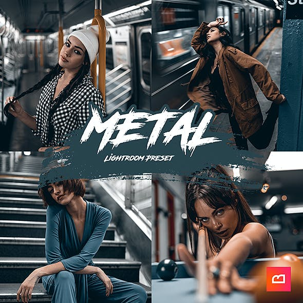 Artistic Collection - Metal Lightroom Preset