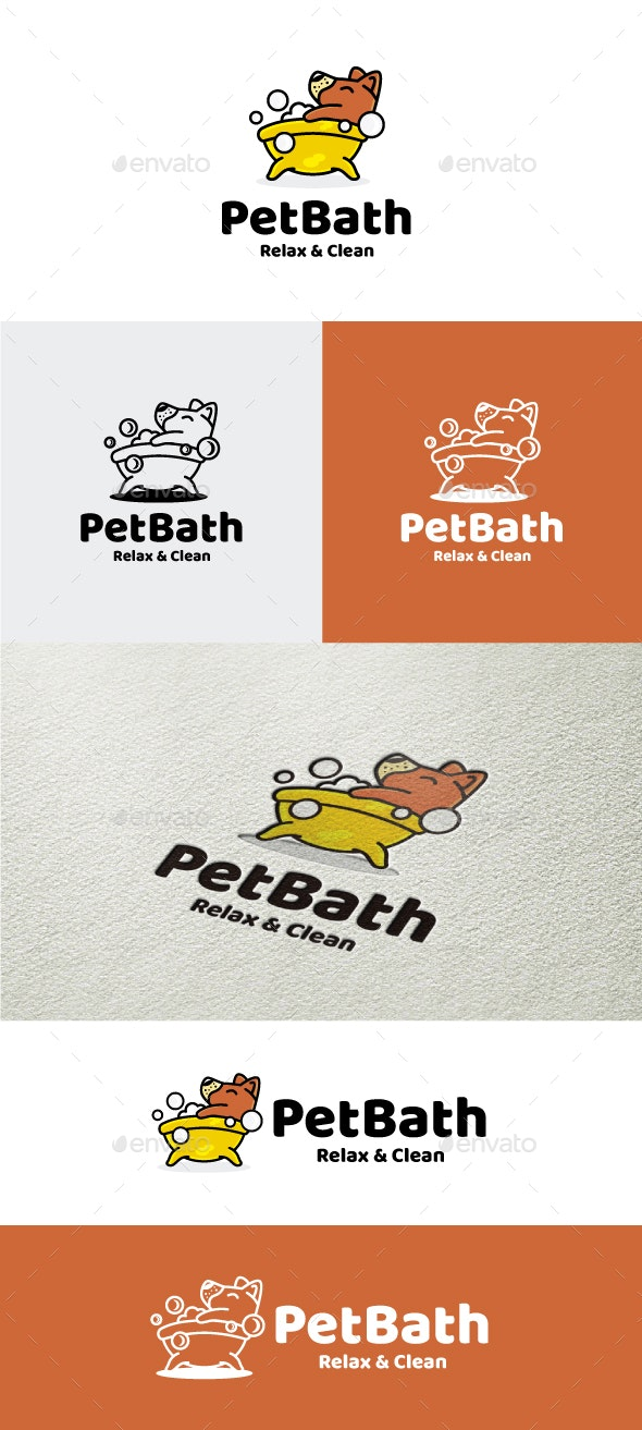 PetBath - Animals Logo Templates