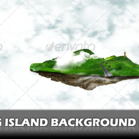 Floating Island Background Pack
