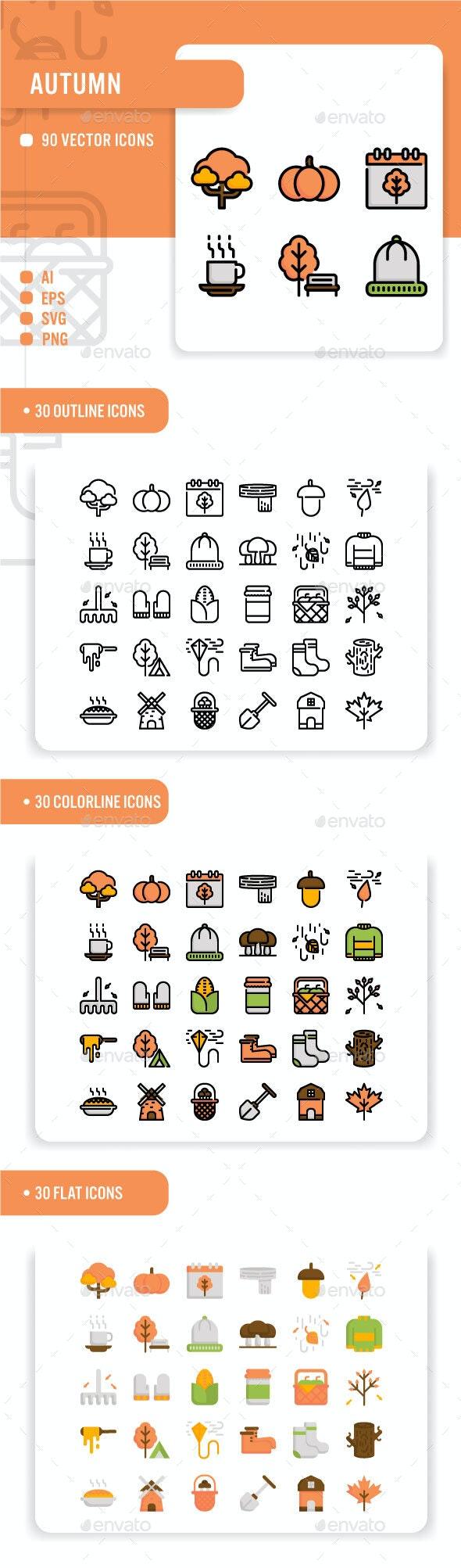 Autumn - Seasonal Icons