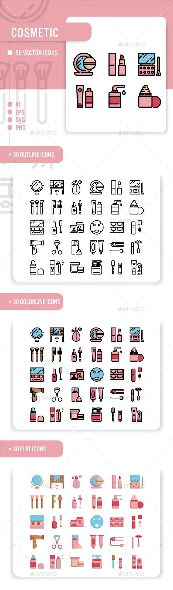 Cosmetics - Miscellaneous Icons