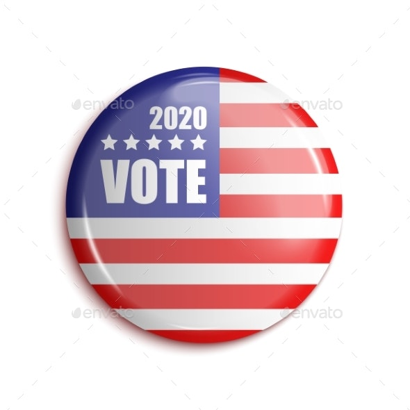 Vote Bage USA 2020 - Man-made Objects Objects