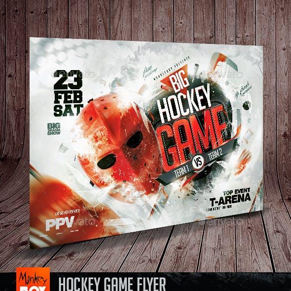 Hockey Game Flyer