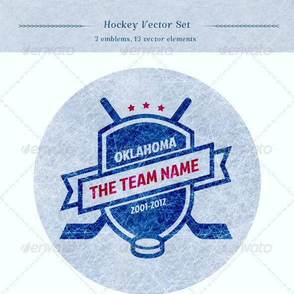 Hockey Vector Set