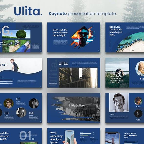 Ulita Keynote Presentation Template