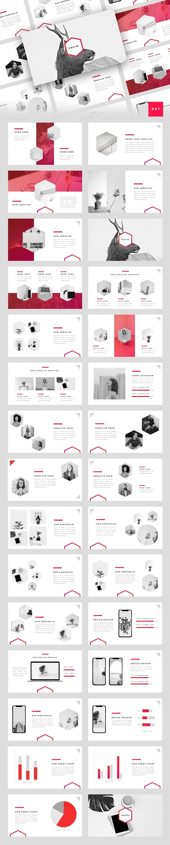 Cruise - Creative PowerPoint Template - Creative PowerPoint Templates