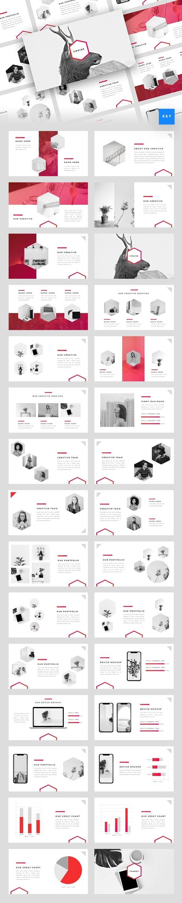 Cruise - Creative Keynote Template - Creative Keynote Templates