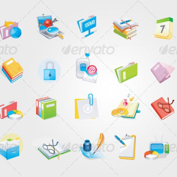 Office Icons Ver. 3