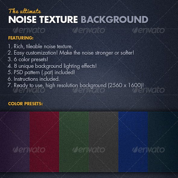 Noise Texture Background
